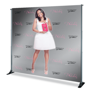 Sample Step and Repeat Backdrop for Photo Booth